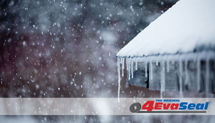 4EvaSeal tapes waterproofing your roof for a harsh winter