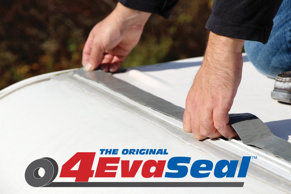 Applying 4EvaSeal tape to prevent leaks