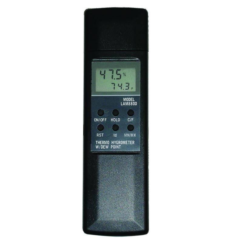 Digital Thermo Hygrometer when applying 4EvaSeal