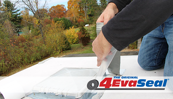 The waterproofing tape that fixes roof leaks permanently